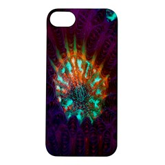 Live Green Brain Goniastrea Underwater Corals Consist Small Apple Iphone 5s/ Se Hardshell Case by Mariart