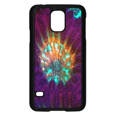 Live Green Brain Goniastrea Underwater Corals Consist Small Samsung Galaxy S5 Case (black) by Mariart