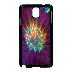 Live Green Brain Goniastrea Underwater Corals Consist Small Samsung Galaxy Note 3 Neo Hardshell Case (black) by Mariart