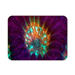 Live Green Brain Goniastrea Underwater Corals Consist Small Double Sided Flano Blanket (mini)  by Mariart