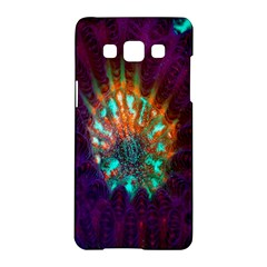 Live Green Brain Goniastrea Underwater Corals Consist Small Samsung Galaxy A5 Hardshell Case  by Mariart
