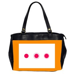 Patterns Types Drag Swipe Fling Activities Gestures Office Handbags (2 Sides)  by Mariart