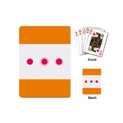 Patterns Types Drag Swipe Fling Activities Gestures Playing Cards (mini)  by Mariart