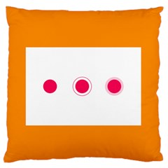 Patterns Types Drag Swipe Fling Activities Gestures Standard Flano Cushion Case (one Side) by Mariart