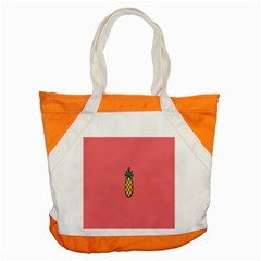 Pineapple Fruite Minimal Wallpaper Accent Tote Bag by Mariart