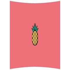 Pineapple Fruite Minimal Wallpaper Back Support Cushion
