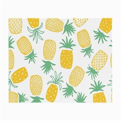 Pineapple Fruite Seamless Pattern Small Glasses Cloth (2 Side) by Mariart