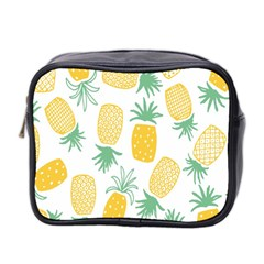 Pineapple Fruite Seamless Pattern Mini Toiletries Bag 2 Side by Mariart