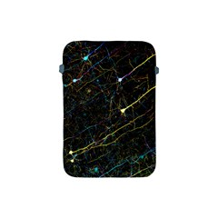 Neurons Light Neon Net Apple Ipad Mini Protective Soft Cases by Mariart