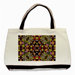 Queen Design 456 Basic Tote Bag (two Sides) by MRTACPANS