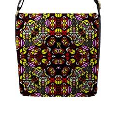 Queen Design 456 Flap Messenger Bag (l)  by MRTACPANS