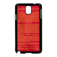 Mrtacpans Writing Grace Samsung Galaxy Note 3 Neo Hardshell Case (black) by MRTACPANS