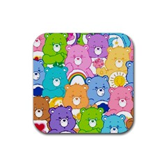 Care Bears Rubber Coaster (square)  by MadelineMadness