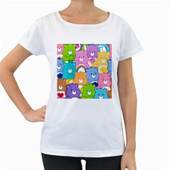 Care Bears Women s Loose Fit T Shirt (white) by MadelineMadness