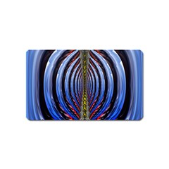 Illustration Robot Wave Rainbow Magnet (name Card) by Mariart
