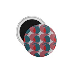 Pink Red Grey Three Art 1 75  Magnets by Mariart