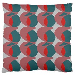 Pink Red Grey Three Art Standard Flano Cushion Case (one Side) by Mariart