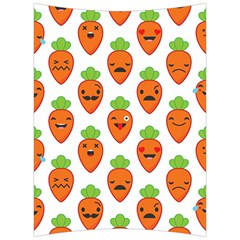 Seamless Background Carrots Emotions Illustration Face Smile Cry Cute Orange Back Support Cushion
