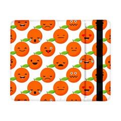 Seamless Background Orange Emotions Illustration Face Smile  Mask Fruits Samsung Galaxy Tab Pro 8 4  Flip Case by Mariart