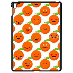 Seamless Background Orange Emotions Illustration Face Smile  Mask Fruits Apple Ipad Pro 9 7   Black Seamless Case by Mariart