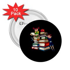 Back To School 2 25  Buttons (10 Pack)  by Valentinaart
