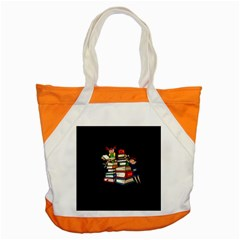 Back To School Accent Tote Bag by Valentinaart