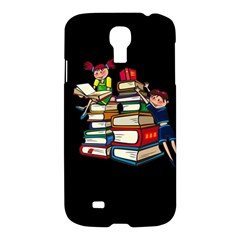Back To School Samsung Galaxy S4 I9500/i9505 Hardshell Case by Valentinaart