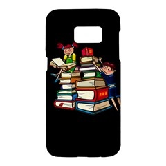 Back To School Samsung Galaxy S7 Hardshell Case  by Valentinaart