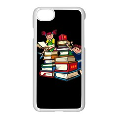 Back To School Apple Iphone 7 Seamless Case (white) by Valentinaart