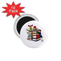 Back To School 1 75  Magnets (10 Pack)  by Valentinaart
