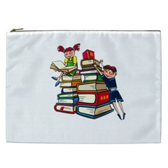 Back To School Cosmetic Bag (xxl)  by Valentinaart