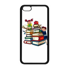 Back To School Apple Iphone 5c Seamless Case (black) by Valentinaart