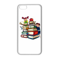 Back To School Apple Iphone 5c Seamless Case (white) by Valentinaart