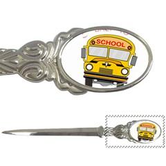 Back To School   School Bus Letter Openers by Valentinaart