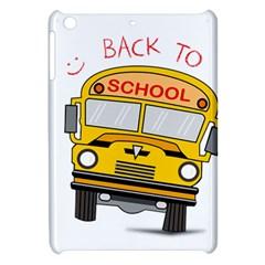 Back To School   School Bus Apple Ipad Mini Hardshell Case by Valentinaart
