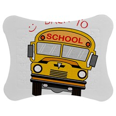 Back To School   School Bus Jigsaw Puzzle Photo Stand (bow)