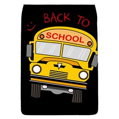 Back To School   School Bus Flap Covers (s)  by Valentinaart