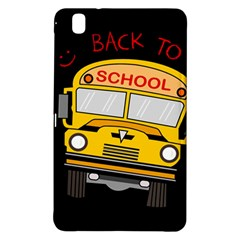 Back To School   School Bus Samsung Galaxy Tab Pro 8 4 Hardshell Case by Valentinaart