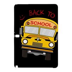 Back To School   School Bus Samsung Galaxy Tab Pro 12 2 Hardshell Case by Valentinaart