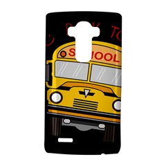 Back To School   School Bus Lg G4 Hardshell Case by Valentinaart