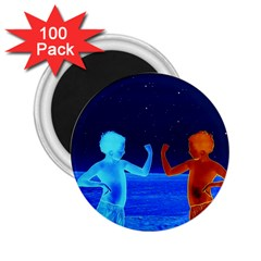 Space Boys  2 25  Magnets (100 Pack)  by Valentinaart