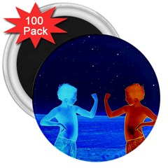 Space Boys  3  Magnets (100 Pack) by Valentinaart