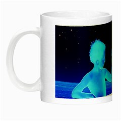 Space Boys  Night Luminous Mugs by Valentinaart