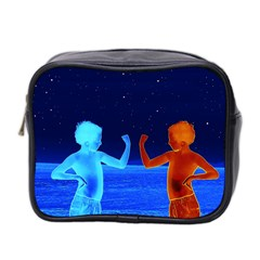 Space Boys  Mini Toiletries Bag 2 Side by Valentinaart