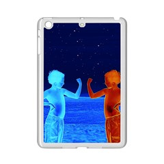 Space Boys  Ipad Mini 2 Enamel Coated Cases by Valentinaart