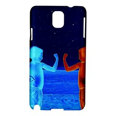 Space Boys  Samsung Galaxy Note 3 N9005 Hardshell Case by Valentinaart