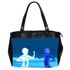 Space Boys  Office Handbags (2 Sides)  by Valentinaart