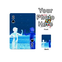 Space Boys  Playing Cards 54 (mini)  by Valentinaart