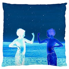 Space Boys  Large Flano Cushion Case (two Sides) by Valentinaart