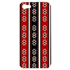 Folklore Pattern Apple Iphone 5 Hardshell Case by Valentinaart